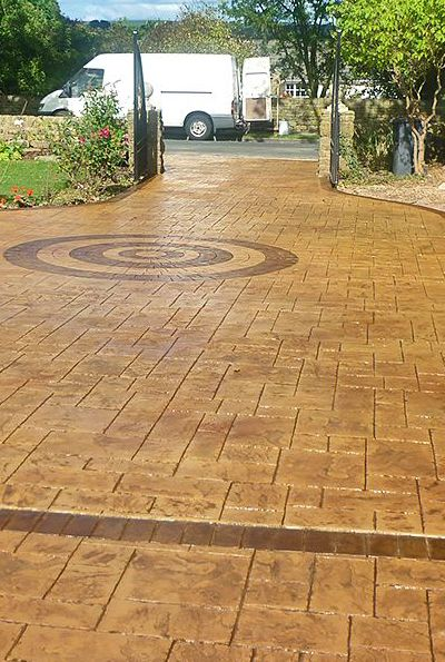 Pattern Imprinted Concrete Driveway & Patio Specialists